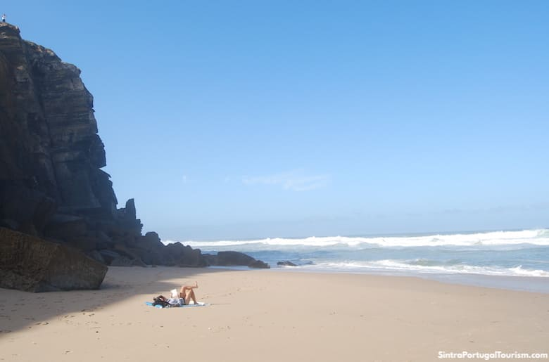 Azenhas do Mar Beach, Sintra
