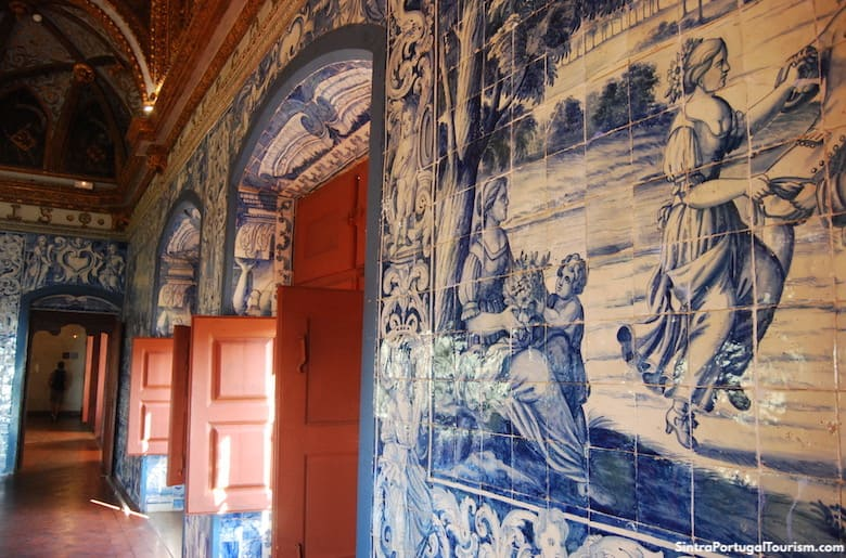 Azulejos in the Sintra National Palace