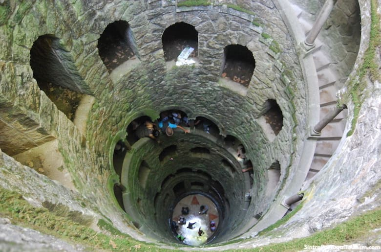Quinta da Regaleira well, Sintra